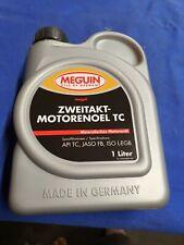 1 Liter 2-Takt Öl Mischöl Meguin Deutschland - Klassifikation siehe Bild