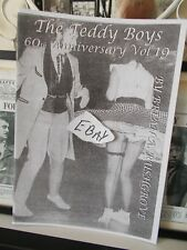 THE TEDDY BOYS 60th ANNIVERSARY MAGAZINE VOL 19, 28 PAGES, About 50 PHOTOS  NEW