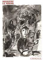 Maeght Editeur - Chagall, Marc: Derriere le miroir. No. 225. Chagall (1977).