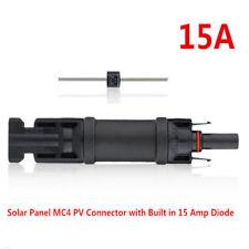 VISSQH 10pcs (5 Par)Conector Solar fotovoltaico,Conectores de Cable para Panel Solar+Y Branch 1 a 3 Conectores Conector M//FFF y F//MMM para Solar PV Sistema 1 Par Wrench