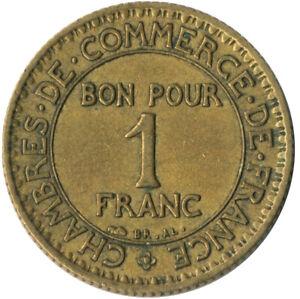 COIN / FRANCE / 1 FRANC 1922  #WT8186