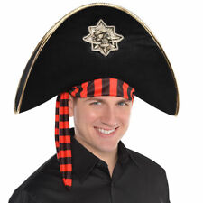 Teschio e Ossa Incrociate Pirate Hat da Uomo Adulti Teenager Capitano 9f9dd85a1e25