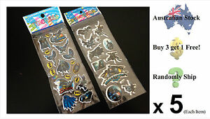 Good Quality 3D Cartoon Stickers! (Bat Man / size: 21.5 cm x 7.5 cm)