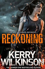 KERRY Wilkinson _ Reckoning BK1 _ SILVER Blackthorn _ __ Nuovo di Zecca FREEPOST UK