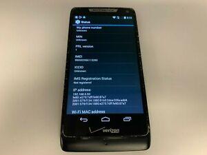 Motorola Droid RAZR M-  XT907- 8GB - Black (Unlocked VZ) Smartphone