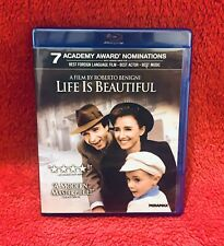 Life Is Beautiful (Blu-ray Disc, 2011) Out Of Print Oop Rare!
