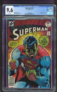 Superman #317 (1977) CGC Graded 9.6 ~ Neal Adams Cover ~ Metallo Appearance