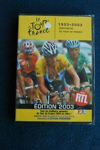 "RARE! DVD NEUF ""LE TOUR DE FRANCE 2003"" cyclisme velo france televisions video"