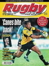 NZ RUGBY NEWS 34-04, 19 Mar 2003 Ian Jones, Ali Williams, Mark Robinson