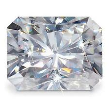 Forever One Radiant 9x7mm 2.7ct DEF Certified Charles and Colvard