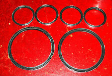 JAGUAR MK2 instrument glass to bezel seals