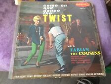 33t come on and dance the twist (with fabian the cousins) (a8)