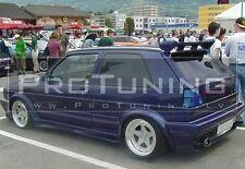 VW GOLF II 2 83-92 Lato Davanzale Gonna Gonne SIDESKIRT Copertura Set Volkswagen mk2