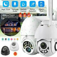 1080P HD CCTV IP Camera Waterproof Outdoor WiFi PTZ Security Wireless IR Cam