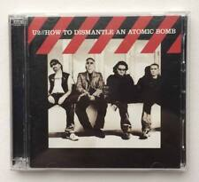 U2 How To Dismantle An Atomic Bomb CD + DVD set double deluxe 2004 CANADA Print
