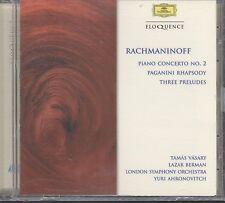 Vasary, Berman, Ahronovitch, London Symphony Orchestra v: Piano Conc cd