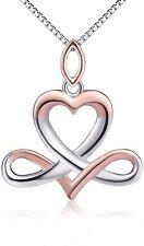 Sterling Silver Libra Constellation Good Luck Irish Celtic Knot Infinity Heart