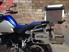 DS Bike Aluminum Raid Toolbox - 2014+ BMW R1200GS Adventure GSA Liquid Cooled Bk