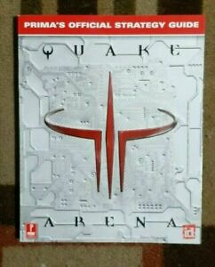 Quake III Arena Prima's Official Strategy Game Guide PC