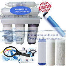 Fountainhead Reverse Osmosis Water Filter Core System 75 GPD. Made in the U.S.A