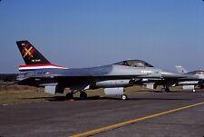 Original colour slide F-16A Fighting Falcon spcl.J-864 of 312 Sqdn. KLu