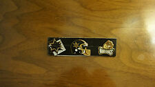 Lot of 3 Cfl Usa pins Las Vegas Posse Memphis Mad Dogs Free Us Shipping