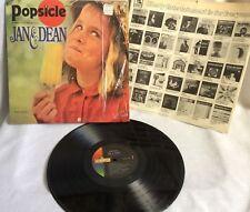 Jan & Dean Popsicle LP Vinyl Record LRP-3458 Liberty Records 1966 Vintage
