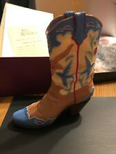 Just the Right Shoe Home On The Range New in Box with Coa