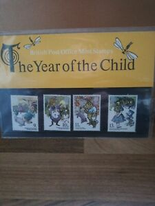 British post office mint stamps - The Year Of The Child