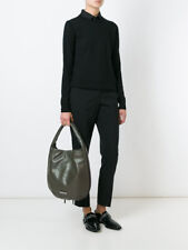 MARC BY MARC JACOBS NEW Q ZIPPERS HILLIER HOBO BAG SPANISH MOSS GREEN $598