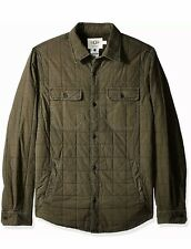 UGG Quilted Shirt Jacket -Olive Color Men's Sz 2XL / XXL NWT