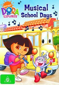 208A NEW SEALED Region 4 DVD NICKELODEON DORA THE EXPLORER MUSICAL SCHOOL DAYS