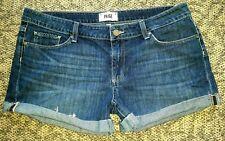 Page women's Jimmy Jimmy Candace cuffed shorts tag size 31 fit like 33
