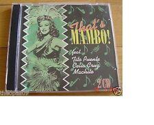 That's! Mambo : Tito Puente Celia Cruz  Machito & His Orchestra 2CD
