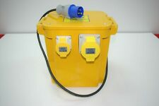 Three Socket 5.0kVA 110V Portable Tool Transformer - P50/3 Input 23v/50Hz