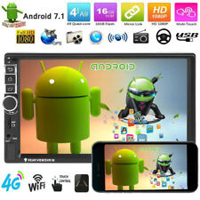 """Android 7.1 Car MP5 Player 7"""" Touch Screen 2 Din 3G WIFI GPS Navi Stereo Video"""