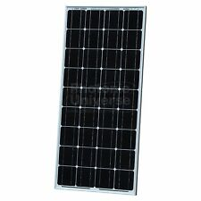 100W solar panel 5m cable for 12V battery motorhome camper caravan boat 100 watt