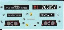 TAMIYA Decal 24059 1/24 Ferrari Testarossa