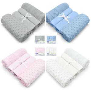 4PC Baby Nursery Bedding Moses Basket/Pram Starter Set Newborn Gift