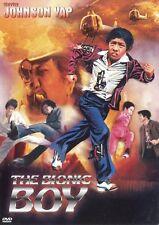 BIONIC BOY Johnson Yap PAL R2 DVD Filipino Cult Action Dynamite Johnson