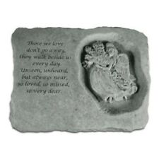 "Kay Berry Those we love- w/ Angel - 94520 Memorial Stone 23"" x 18"" x 5.5"" NEW"