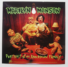 """MARILYN MANSON Portrait Of An American Family PROMO Poster Never Hung 27""""x27"""""""