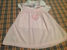 New York Yankees Baby Dress and Shirt Size 0-3 months Majestic