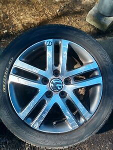 VW GOLF MK6 'ATALANTA' 16inch ALLOY WHEEL SET + TYRES (fits: VW JETTA, VW TOURAN