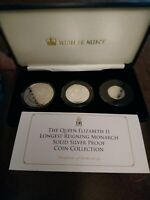 2015 Tristan Da Cunha Longest Reigning Monarch Silver Proof Collection