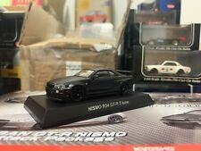 Kyosho 1/64 Nissan Nismo Gt R R34 Matte Black