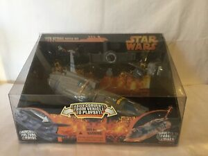 STAR WARS MICRO MACHINES REVENGE OF THE SITH ATTACK BATTLE SET 2005 GALOOB USED