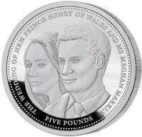 Megxit 2018 Prince Harry and Meghan Markle Royal Wedding 1 oz .999 silver Proof