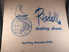Vintage Riedell  Black Skating Shoes Red Wing, Minnesota 55066 Size 7.5