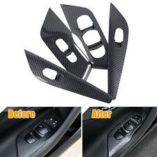4pcs Door handle Window Lift Switch Cover Bezel Trim For Nissan Altima 2013-2016